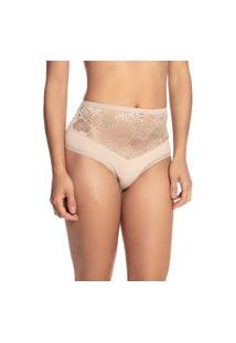 Calcinha Hot Pants Volúpia 1042 - Nude - Gg