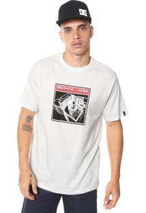 Camiseta Dc Shoes Terrain Off-White