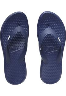 Chinelo Nike Sportswear Solay Thong Azul-Marinho