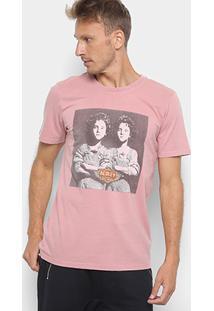Camiseta Redley Double V Masculina - Masculino