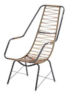Cadeira De Fio Trançado Eletrostático Plus Ouro Fabone Móveis