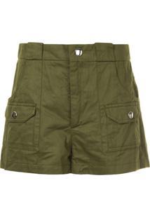 Marni Shorts Cargo - Verde