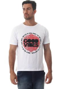 Camiseta Masculina Maidale - Vermelho