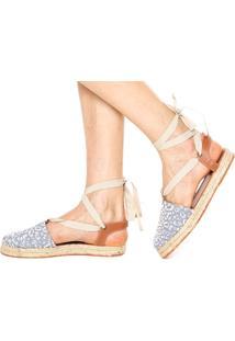 Alpargata Dafiti Shoes Recorte Azul