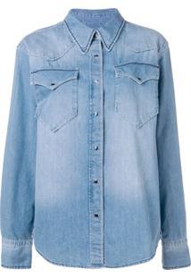 237956e477 Camisa Jeans U2 feminina