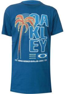 Camiseta Oakley Neon Tee - Masculino-Azul