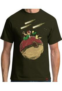 Camiseta Pequeno Pokémestre - Masculina