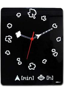 f540c0e81db Amazon. Relógio De Parede De Parede Estampado Digital ...