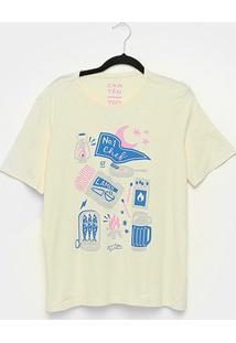 Camiseta T-Shirt Cantão Boyfriend Chef Feminina - Feminino