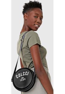 Bolsa Colcci Logo Preta - Preto - Feminino - Dafiti