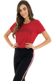 T-Shirt La Mandinne Original Vermelha
