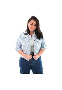 Jaqueta Jeans Feminina Arauto Jeans Delave