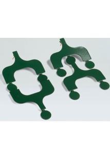 Brinco Ipanema-Verde Escuro - Un