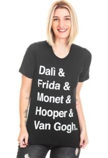 Camiseta Bloom Pintores Useliverpool Feminina - Feminino