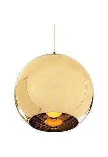 Luminária Tom Dixon Copper Shade Dourado