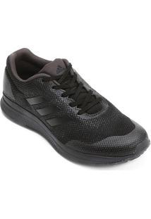 Tênis Adidas Mana Bounce 2 Masculino - Masculino-Preto+Chumbo