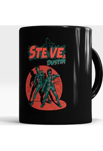 Caneca Steve And Dustin
