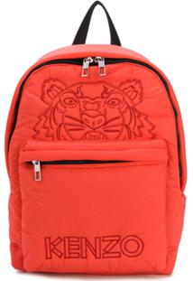 Kenzo Tiger Padded Backpack - Laranja
