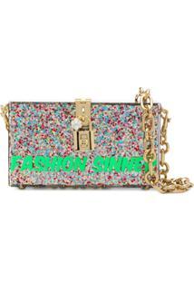 Dolce & Gabbana Bolsa 'Box Fashion' - Estampado