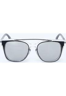 d183e2c62efcf Óculos De Sol Cinza Grande feminino