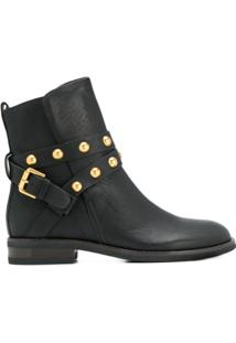 See By Chloé Ankle Boot Clássica - Preto