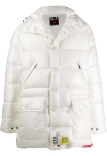 Brumal Hooded Padded Jacket - Branco
