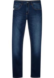 Calça John John Skinny Marrocos Masculina (Jeans Medio, 46)