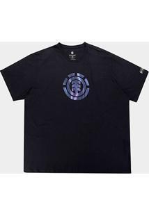 Camiseta Element Twists Logo Masculina - Masculino