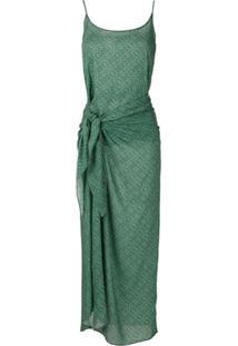Track & Field Vestido Canga Tribos Softmax - Verde