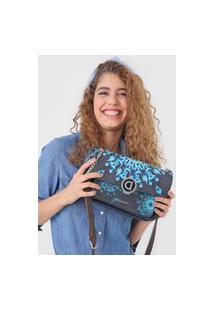 Bolsa Desigual Across Body Bag Luna R Azul-Marinho