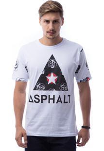 Camiseta Asphalt Delta Roses Masculina - Masculino