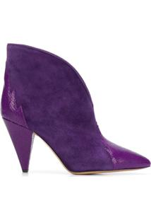 Isabel Marant Ankle Boot Archee - Roxo