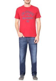 Calça Jeans Levis 514 Straight - Masculino-Azul