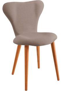Cadeira Jacobsen Linho Cinza