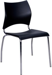 Cadeira Em Polipropileno Potim 2 48,5X56,5Cm Preta