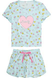 Pijama Azul Lovely