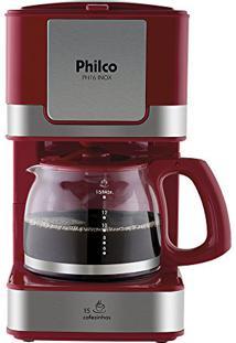 Cafeteira Elétrica Philco Ph16 - 220V - Vermelho