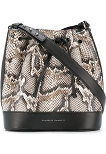 Giuseppe Zanotti Selly Bucket Bag - Preto