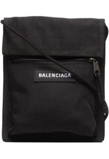 Balenciaga Bolsa Transversal - Preto