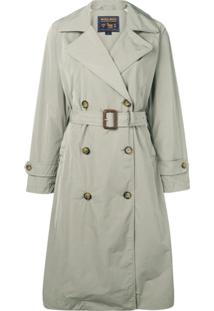 Woolrich Trench Coat - Verde
