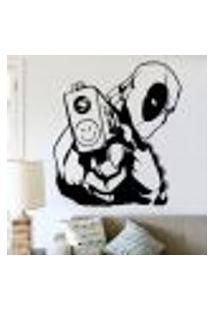 Adesivo De Parede Deadpool 3 - M 58X51Cm