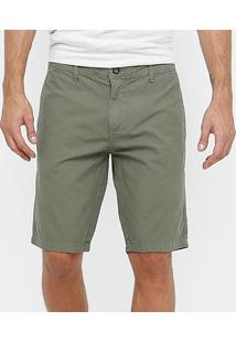 Bermuda Colcci Sarja Tinturada Color Masculina - Masculino