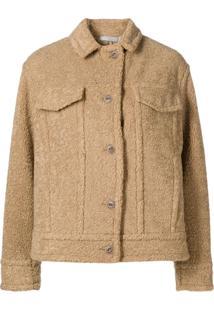Vince Teddy Shirt Jacket - Neutro