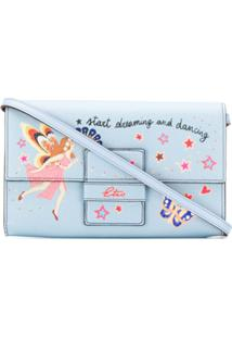 Etro Clutch Com Estampa Start Dreaming - Azul