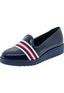 d15c4bd3a8 Sapato Azul Marinho Conforto feminino