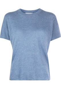 Vince Camiseta De Tricô - Azul