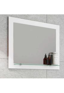 Espelheira Para Banheiro Barcelona - Branco - Mgm