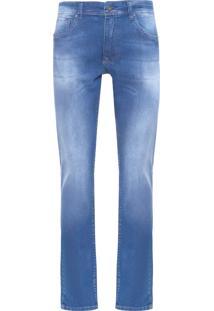 Calça Masculina Jeans Basic - Azul