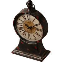 c26b0f6cb0b Relógio De Mesa Decorativo Classic De Metal