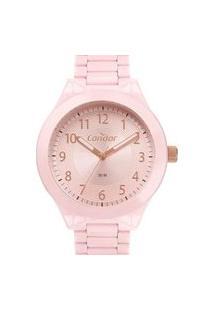 Relógio Condor Analógico Feminino - Co2035Mye/4T Rosa